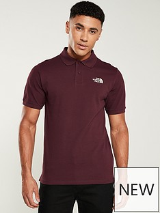 the-north-face-piquet-polo-red