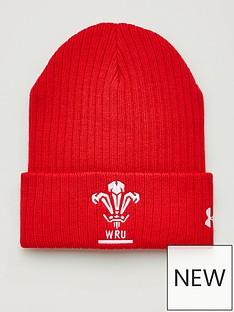 under-armour-wales-wru-beanie-red