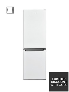 Hotpoint Day1 H3T811IW60cm Wide, Total No Frost Fridge Freezer - White Best Price, Cheapest Prices