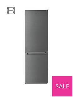Hotpoint Day1 H3T811IOX 60cm Wide, Total No Frost Fridge Freezer - Inox Best Price, Cheapest Prices