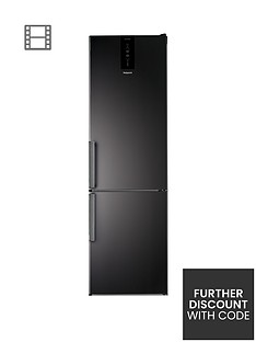 Hotpoint Day1 H7T911TKSH 60cm Wide, Total No Frost Fridge Freezer - Black Best Price, Cheapest Prices