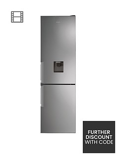 Hotpoint Day1 H7T911AMXHAQUA 60cm Wide, Total No Frost Fridge Freezer with Water Dispenser - Inox Best Price, Cheapest Prices