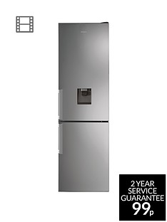 Hotpoint H7T911AMXHAQUA 60cm Wide, Total No Frost Fridge Freezer - Inox Best Price, Cheapest Prices