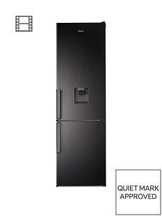 hotpoint-day1-h7t911akshaqua1-60cmnbspwide-total-no-frost-fridge-freezer-with-water-dispenser-black
