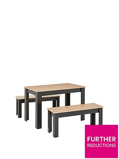 boston-120-cm-dining-table-and-2-benches