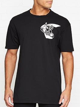 vivienne-westwood-anglomania-large-orb-logo-t-shirtnbsp--black