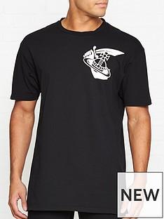 f6147c09680 VIVIENNE WESTWOOD Large Orb Logo T-shirt - Black