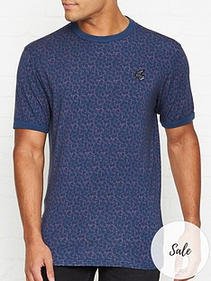 vivienne-westwood-anglomania-floral-print-orb-logo-t-shirtnbsp--blue