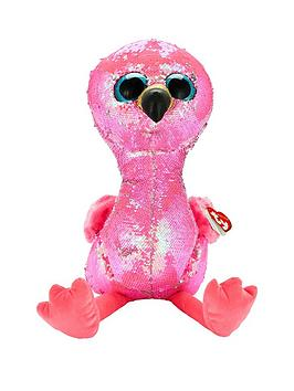 ty-flippables-pinky-the-flamingo-large-soft-toy