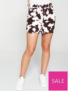 v-by-very-denim-mini-skirt-print