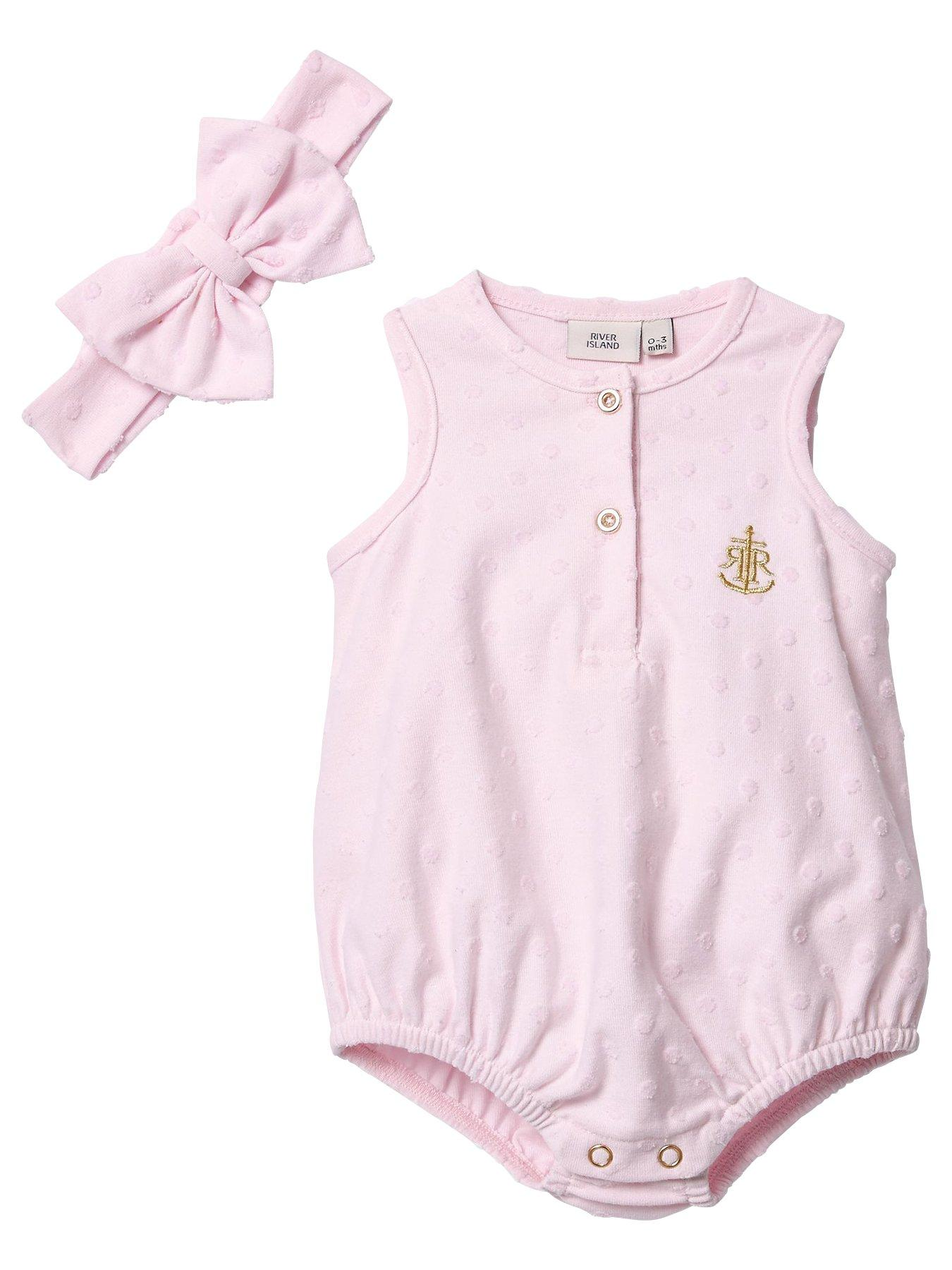 Clothing, Shoes & Accessories One-pieces Smart Baby Girl Next Romper Upto 1 Month Pure White And Translucent
