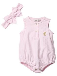 river-island-baby-baby-textured-romper-with-headband-pink
