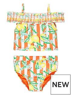 river-island-mini-mini-girls-lemon-bardot-tankini-set-orange