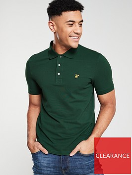 lyle-scott-plain-polo-shirt-jade-green