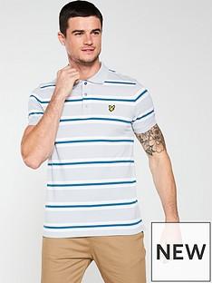 lyle-scott-multi-stripe-polo-shirt-silver-grey