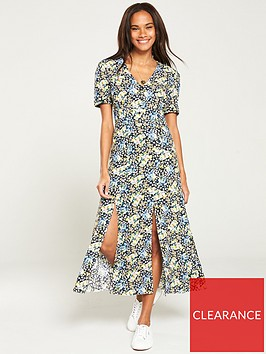 v-by-very-button-front-ditsy-print-midaxinbspdress-ditsy-print