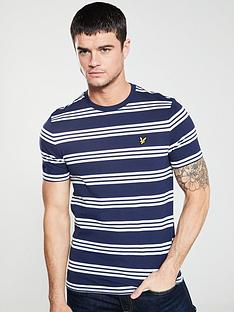 lyle-scott-striped-t-shirt-navy