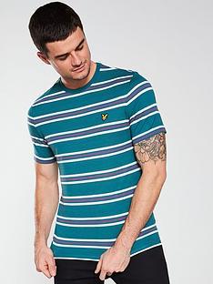 lyle-scott-multi-stripe-t-shirt-teal