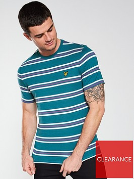 lyle-scott-multi-stripe-t-shirt-teal