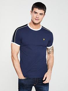 lyle-scott-taped-ringer-t-shirt-navy