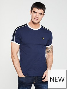lyle-scott-taped-ringer-t-shirt-navy