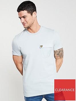 lyle-scott-pocket-t-shirt-light-silver