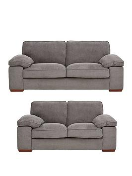 Blakely Fabric 3 Seater + 2 Seater Sofa Set (Buy And Save!)