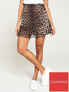 v-by-very-mesh-frill-mini-skirt-leopard-print