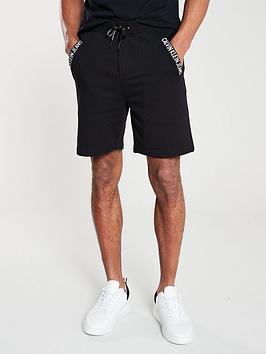 calvin-klein-jeans-institutional-logo-jersey-shorts-black