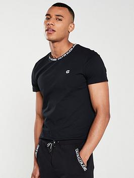 calvin-klein-jeans-logo-collar-tape-t-shirt-black