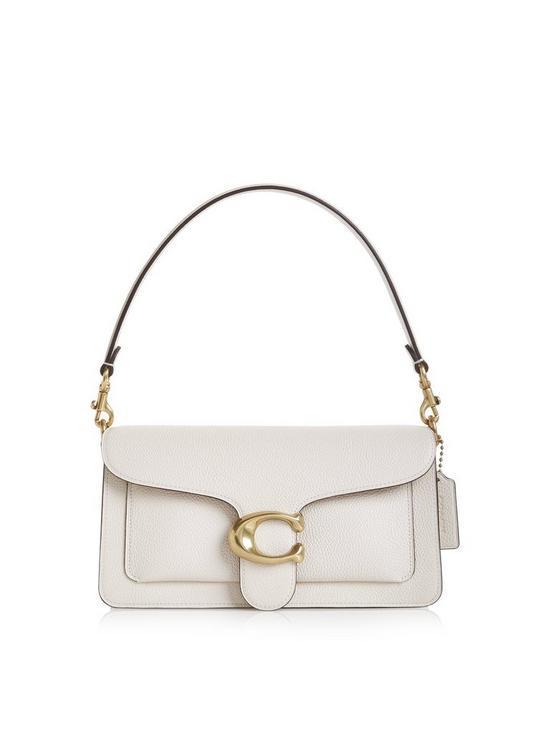18fbf953ce4 Tabby C Logo Cross-Body Bag - White