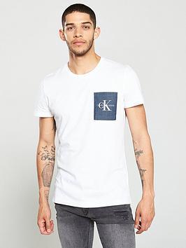 calvin-klein-jeans-monogram-pocket-logo-t-shirt-white