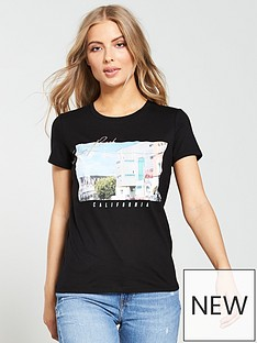 5087be246 Black tops & t-shirts for women   Click & Collect next day   Very.co.uk