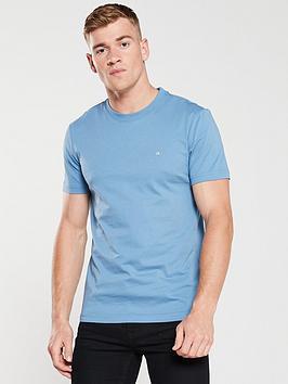 calvin-klein-embroidered-logo-t-shirt-airforce-blue