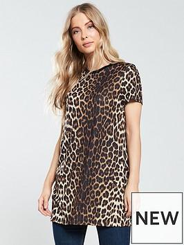 v-by-very-longline-t-shirt-leopard-print