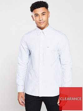 calvin-klein-striped-oxford-shirt-bluewhite