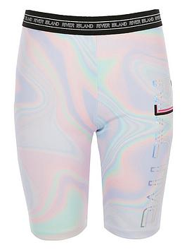 river-island-girls-ri-active-marble-cycle-shorts-pink