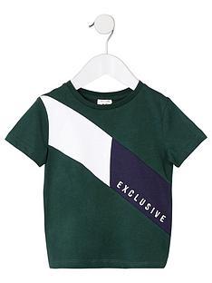 river-island-mini-mini-boys-exclusive-block-t-shirt-green