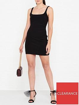 bec-bridge-karina-mini-dress-black