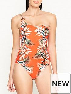 seafolly-ocean-alley-print-one-shoulder-swimsuit-orange