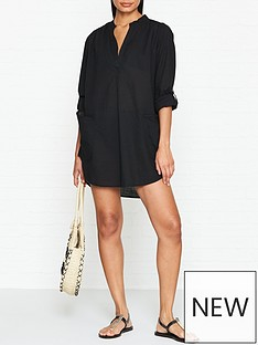 seafolly-boyfriend-beach-shirt-black