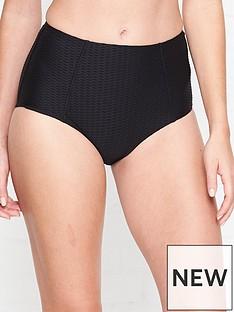 seafolly-la-luna-waffle-high-waisted-bikini-bottoms-black