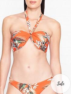 seafolly-ocean-alley-print-twist-bandeau-bikini-top-orange