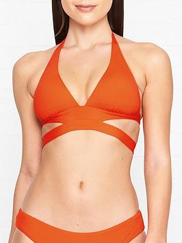 seafolly-active-split-band-halter-bikini-top-orange