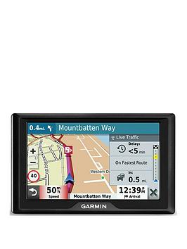 Garmin Drive 52 Eu Mt-S 5 Inch Sat Nav With Map Updates For Uk, Ireland And Full Europe, Live Traffic And Speed Camera And Other Driver Alerts