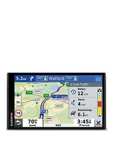 garmin-drivesmart-65-mt-d-695-inch-sat-nav-with-edge-to-edge-display-map-updates-for-uk-ireland-and-full-europe-digital-traffic-bluetooth-hands-free-calling-voice-commands-and-smart-features