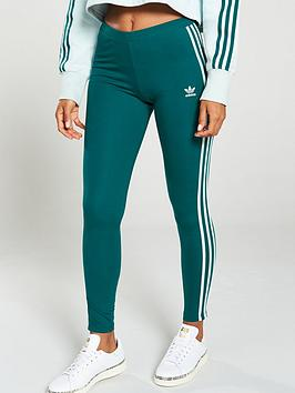 adidas-originals-3-stripe-tight-greennbsp