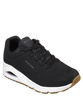skechers-uno-stand-on-air-trainers-black
