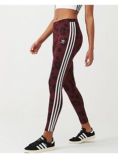 adidas-originals-aop-tights-maroon