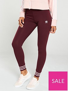 adidas-originals-tights-maroonnbsp